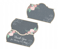 Lillian Rose 24 Vintage Chalkboard Place Cards